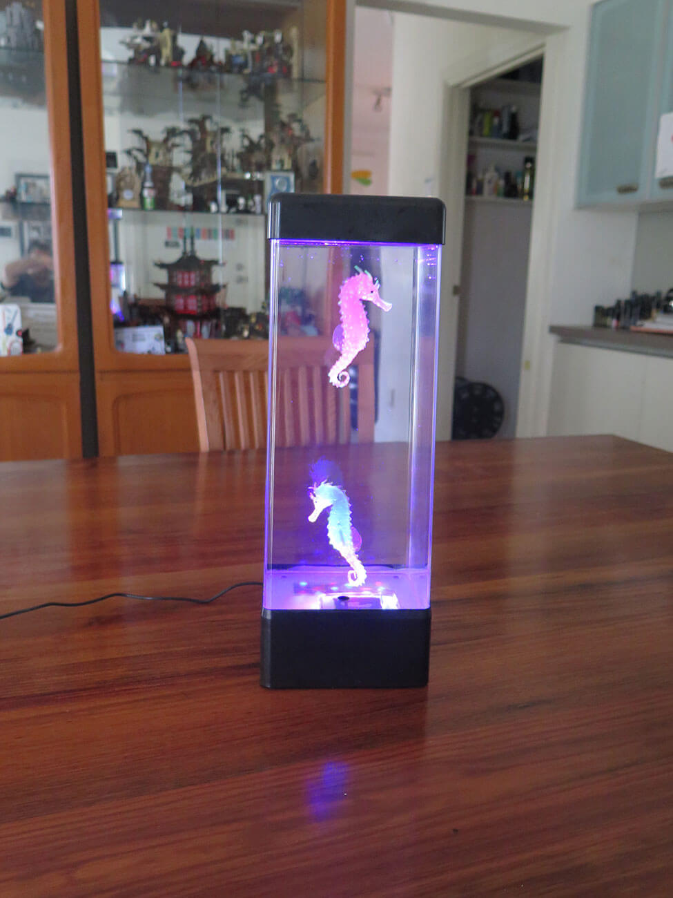 Buy Sea Horse Lamp purple